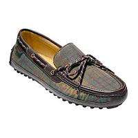 Cole Haan Men's Grant Canoe Casual Drivers - Tartan/Chestnut