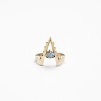 Vanessa Mooney Womens Unearthly Ring - Gold 6