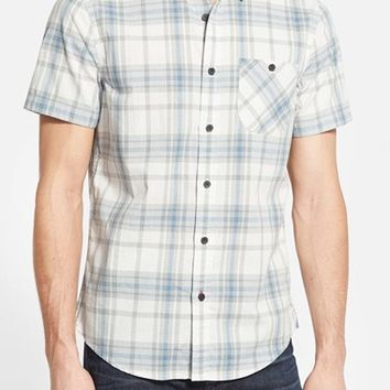 Men's 1901 'Boren' Trim Fit Plaid Sport Shirt,