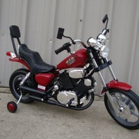 Electric Kids Ride On Toys Motorcycle Power Wheels - (Assorted Colors Blue/Black/Red. Sent at random)