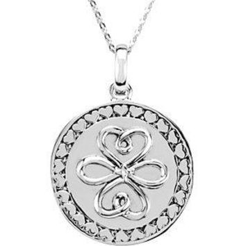 Sterling Silver Sisters Make the Best Friends Necklace