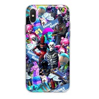 ALL OVER FORTNITE EXPLOSION CUSTOM IPHONE CASE