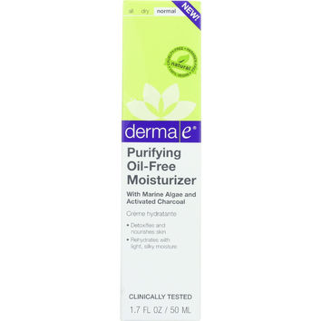 Derma E Moisturizer - Purifying - Oil-Free - 1.7 oz - 1 each