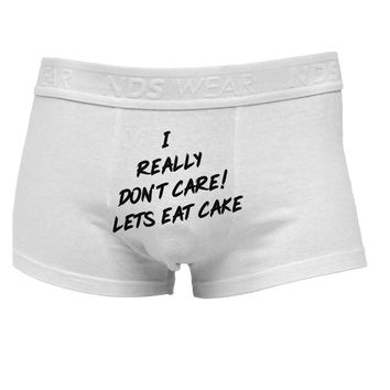 Funny Melania Satire Let Them Eat Cake Mens Cotton Trunk Underwear by TooLoud