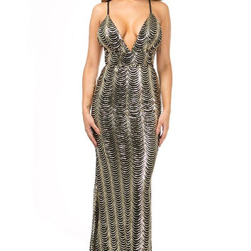 When All Else Scales Sequin Mermaid Dress
