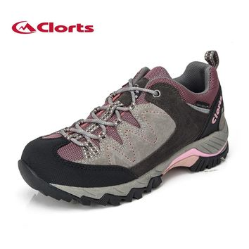 Clorts Women Hiking Shoes Suede Outdoor Hiking Boots for Women  Waterproof Sports Sneakers Women Shoes Hiking Shoes