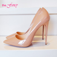 Red Bottom Sole High  Pointed Toe women heels