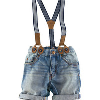 Overall Shorts - from H&M