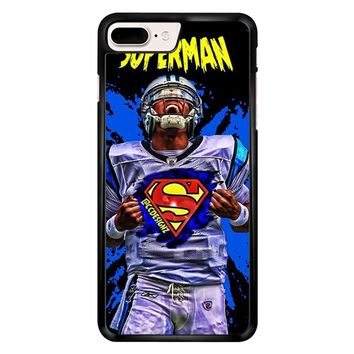 Superman Cam Newton Carolina iPhone 7 Plus Case