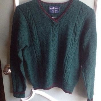 SALE Vintage Ralph Lauren Wool Sweater