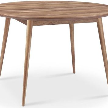Victory Round Dining Table WALNUT - CLEARANCE