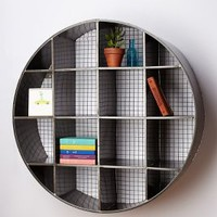 Tundra Wall Cubby by Anthropologie Dark Grey One Size Office