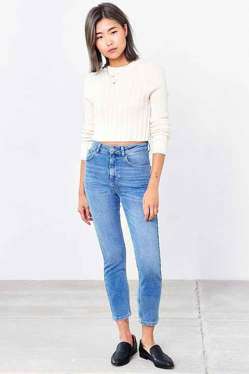 e94f1812 BDG Girlfriend High-Rise Jean - Light from Urban Outfitters