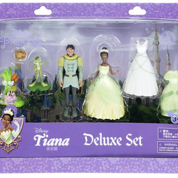 Disney Parks Princess Tiana And Naveen Deluxe Playset New With Box