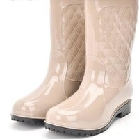 Soho High Fashion Rainboots