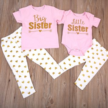 GIrls Big Sister, Little Sister 2 Piece Set