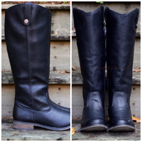 Alexander Riding Club Black Riding Boots