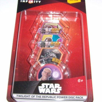 DISNEY INFINITY 3.0 Twilight of the Republic Star Wars Power Disc Set Lot Pack