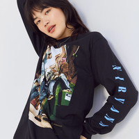 Nirvana Long Sleeve Graphic Tee | Urban Outfitters