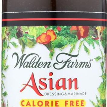 WALDEN FARMS: Asian Dressing And Marinade Calorie Free, 12 oz