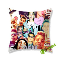 Matthew Espinosa Collage Square Pillow Cover
