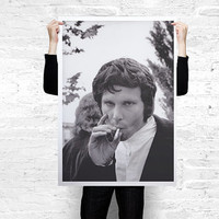 Jim Morrison The Doors Photograph Poster