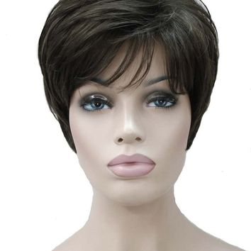 Strong Beauty Synthetic Short Body Wave Wigs 12Color Women Hair Full Wig