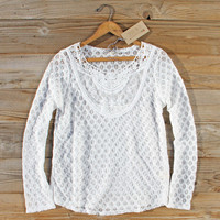 Fern & Lace Blouse