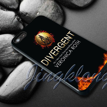 Divergent Veronica Roth Cover - iPhone 4 4S iPhone 5 5S 5C and Samsung Galaxy S3 S4 Case