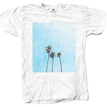 Home Palms 2 - White