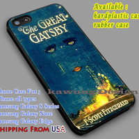 Vintage Book The Great Gatsby iPhone 6s 6 6s+ 6plus Cases Samsung Galaxy s5 s6 Edge+ NOTE 5 4 3 #movie #TheGreatGatsby dl3