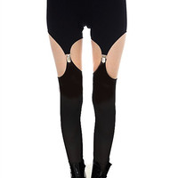 Garter Leggings - L