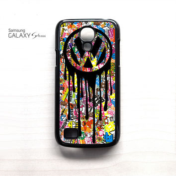 VW Volkswagen Bomb Sticker for Samsung Galaxy Mini S3/S4/S5 phone case