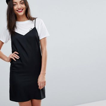 ASOS TALL Mini Cami Slip Dress at asos.com