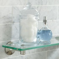 MERCER GLASS SHELF