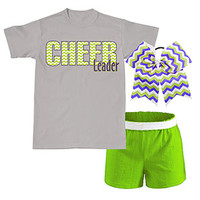 Chevron Cheerleader Campwear Package