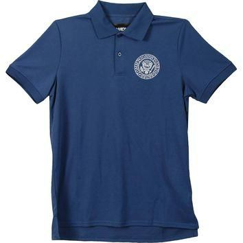 Ramones Men's Golf Shirt Polo Shirt Blue