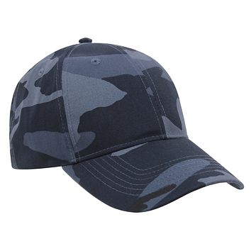 Rothco Supreme Midnight Blue Camo Low Profile Cap