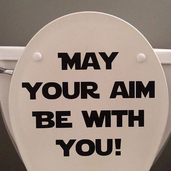 Star Wars Bathroom Decal!