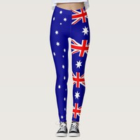 Leggings with flag of Australia