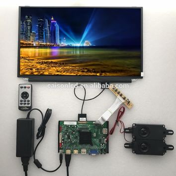2HDMI+VGA+DP+Audio 4K LCD controller board support 17.3 inch lcd panel N173DSE-G31 with 3840*2160