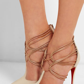 Christian Louboutin | Confusa 100 leather pumps | NET-A-PORTER.COM