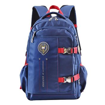 UNIVERSITY OF OXFORD CASUAL children/kids high school bag books shoulder backpack portfolio rucksack for boys girls