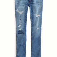 AEO 's Premium Skinny Jean (Medium Authentic Destroy)