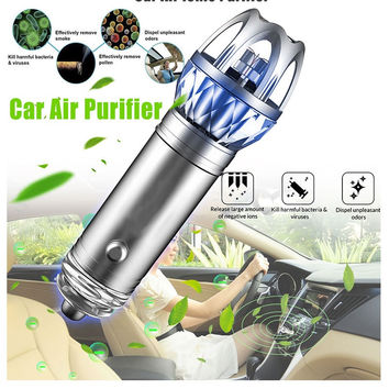2017 New Mini Car Air Ionic Purifier - Innovative Ionizer Cleaner - Odor remover