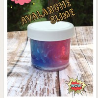 Pink & Blue Avalanche Slime