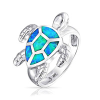 Bling Jewelry Turtle Time Ring
