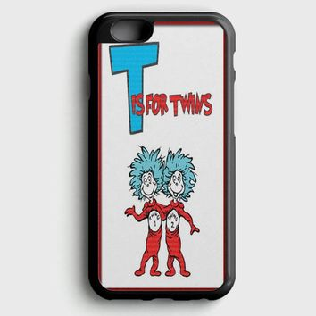 Thing 1 And Thing 2 iPhone 6 Plus/6S Plus Case