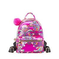 SHANGHAI SURPRISES CHINOISERIE BACKPACK: Betsey Johnson