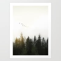 Forest Art Print by Nicklas Gustafsson